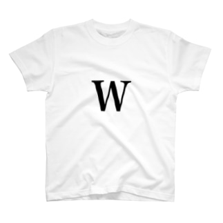 initial W T-shirts