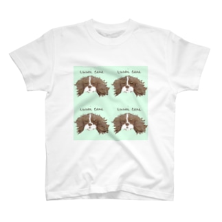 Kururunの爽やかミント☆キャバリア T-shirts