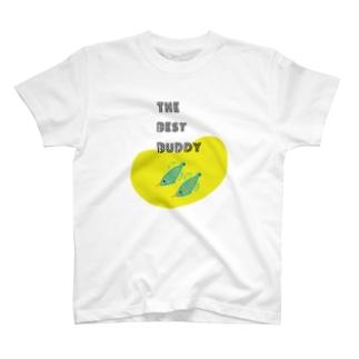 バディとおそろい テングカワハギ T-shirts