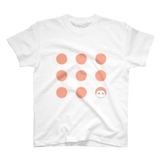 ドットとハムスター T-shirts