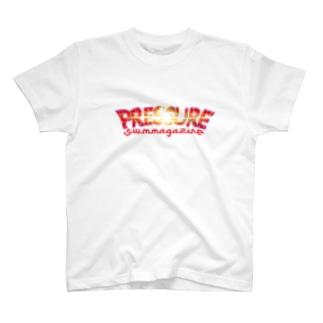1月NEW「PRESSURE」 T-shirts