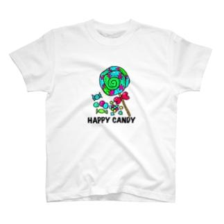 ハッピーキャンデー T-shirts