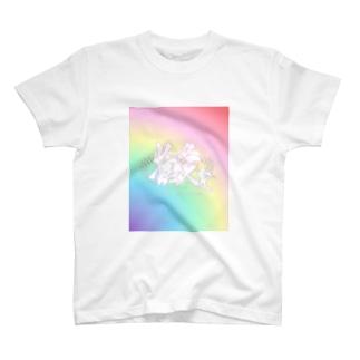 推 愛 sweet  T-shirts