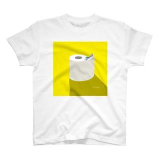昼のSAME Paper T-shirts