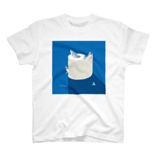 夜のSAME Paper T-shirts