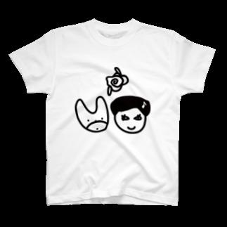 Kekyo & Yoritan RECORDSのKekyo & Yoritan RECORDS -Logo T-shirts