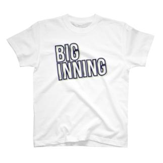 ビッグイニングTシャツ T-Shirt