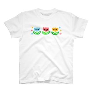 百世 (Momoyo)のおはな3兄弟 T-shirts