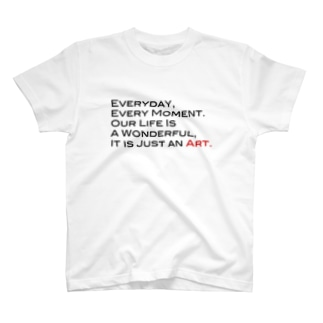 words from me T-shirts