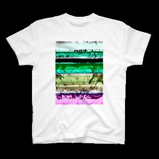 レオナのGlitch(SAKURA) T-shirts
