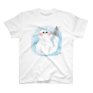 ペルシャ猫 ここちゃん T-shirts