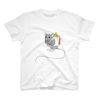 お買い物ラット T-shirts