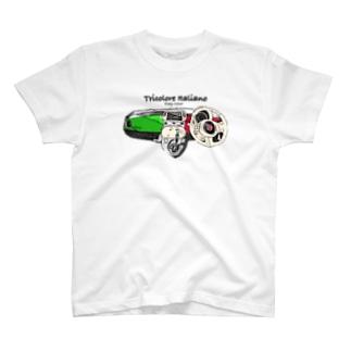 トリコローレチンク コックピット T-shirts