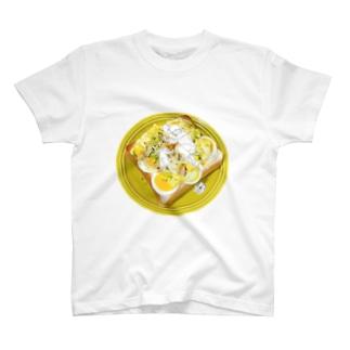卵トーストの夢 T-shirts