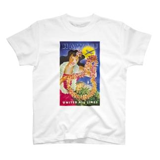ハワイ ユナイテッド・エアライン T-shirts