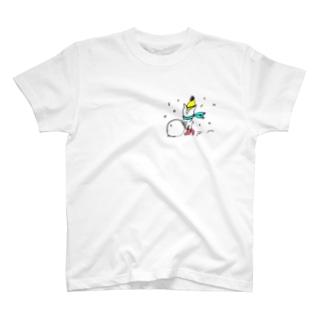 冬の絵 T-shirts
