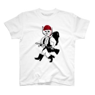 兵隊 T-shirts