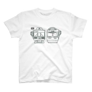 電車(codycoby) T-shirts