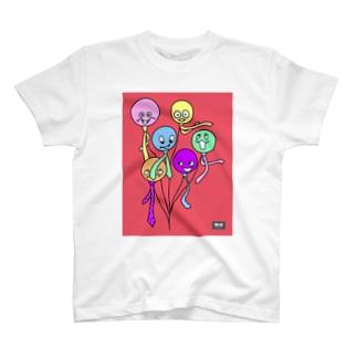 風船サラリーマン(codycoby) Tシャツ