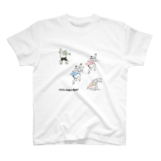 鳥獣戯画×バレエ【プレバレエ】 T-shirts