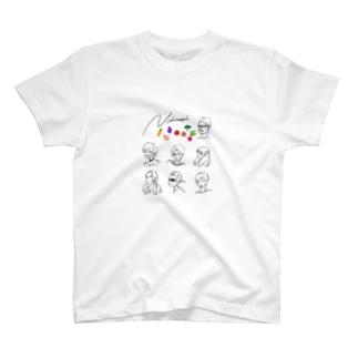 信長の野菜 T-shirts
