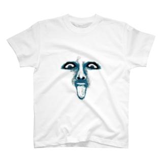 ド根性舐め犬 T-shirts