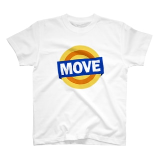 move  アメリカ オイル缶ロゴ T-shirts