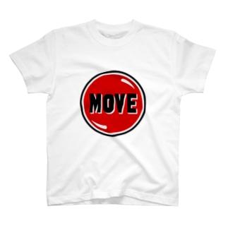 move  デザイン カントリー T-shirts