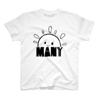 お日様ぽかぽか T-shirts