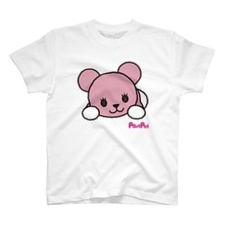 ごろごろモモ T-shirts