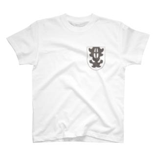 Always with Bugs/甲虫ポケット/カワラハンミョウTシャツ T-shirts