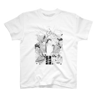 標識と信仰 T-shirts
