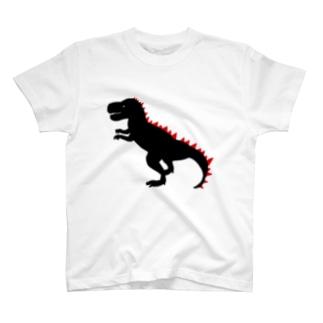 Kanako Okamotoの恐竜Tシャツ「ティラノサウルス」 T-Shirt