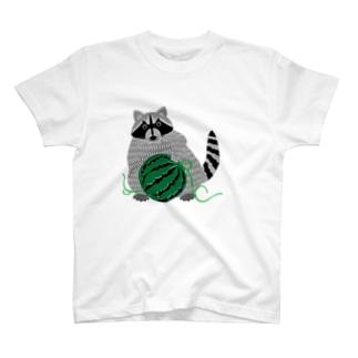 アライグマ T-shirts
