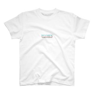 FlorN公式Tシャツ白 T-shirts