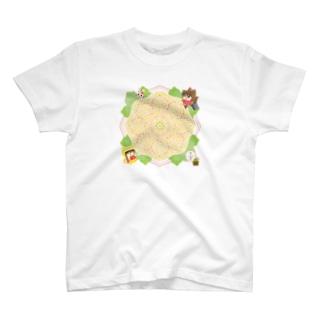 万華鏡炒飯デザイン T-Shirt
