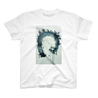 円相 エコバッグ T-shirts