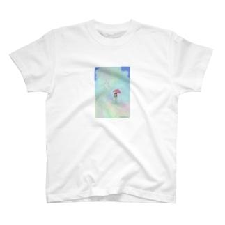 虹のジェットコースター T-shirts