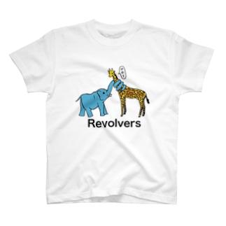 リボルバーズ丸谷 オフィシャルアイテムのリボルバーズ T-shirts