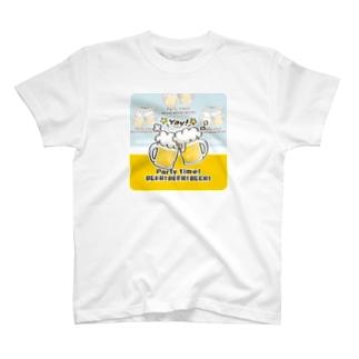*suzuriDeMONYAAT*のCT125 BEER!BEER!BEER!*C T-shirts