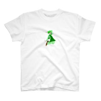 自然界の精霊 四つ葉守 T-shirts