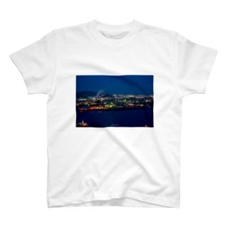 工場夜景1 T-shirts