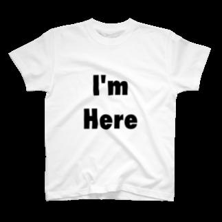 HiromuのI'm Here Tシャツ T-shirts