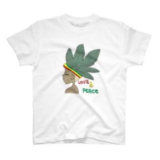 レゲエカラー T-shirts