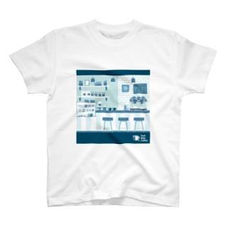 香るコーヒー T-shirts