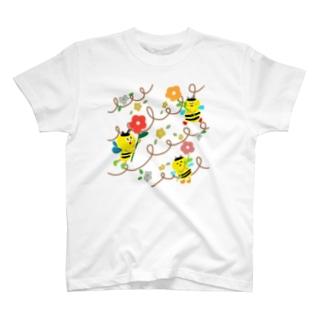 ミツバチ T-shirts