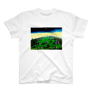 奇岩の丘 T-shirts