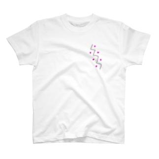 ぎざぎざ T-shirts