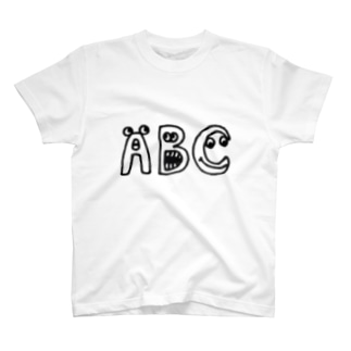"""yurumoji """"ABC"""" T-Shirt"""