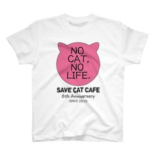 6周年記念アイテム「NC,NL.」-sakura- T-shirts